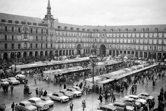 1961 Plaza Mayor Navidad