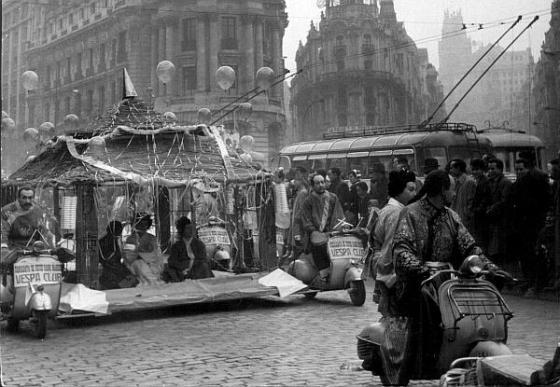 Cabalgata de reyes en 1959