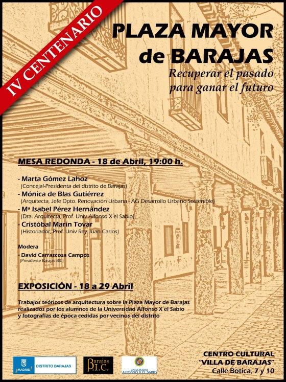 IV Centenario Plaza Mayor Barajas