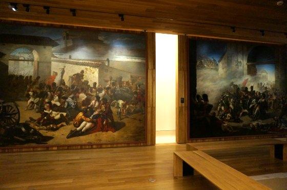 Museo de Historia. Muerte de Daoiz y Muerte de Velarde. Manuel Catellanos