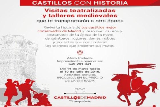 CAstillos con historia CAM