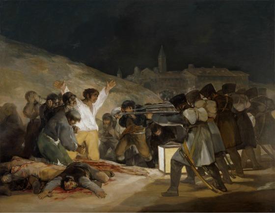 El 3 de mayo o los Fusilamientos. Francisco de Goya y Lucientes. Museo Nacional del Prado