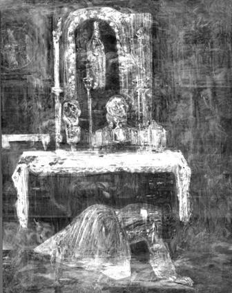 José Gutiérrez Solana. La tertulia del Café de Pombo. 1920. MNCARS