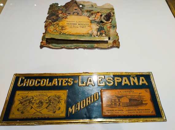 Chocolates la Española se encontraba en la calle Santa Engracia
