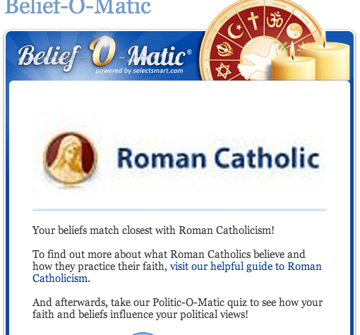 i'm a roman catholic?