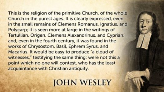 John Wesley canonical theism