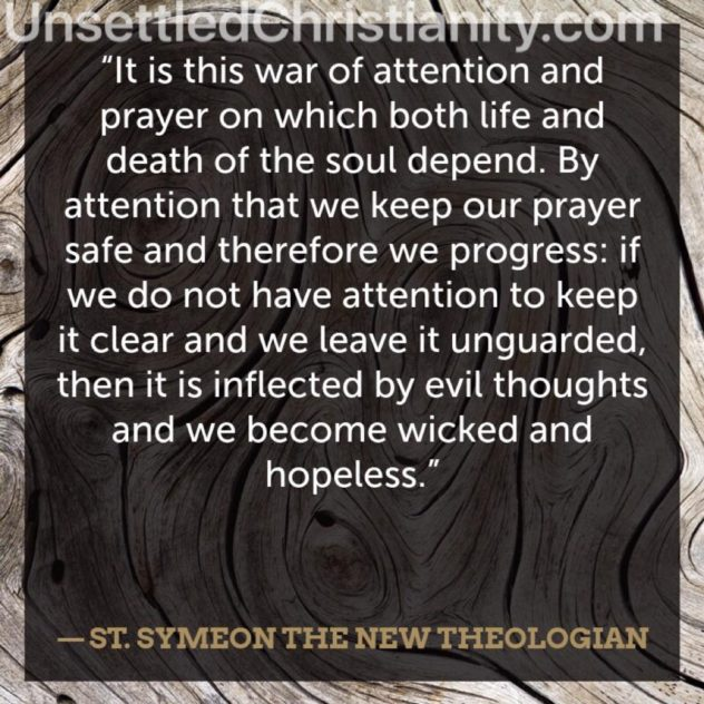 St Symeon Prayer quote