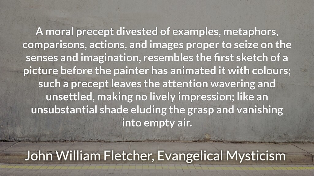 Fletcher on the moral metaphor