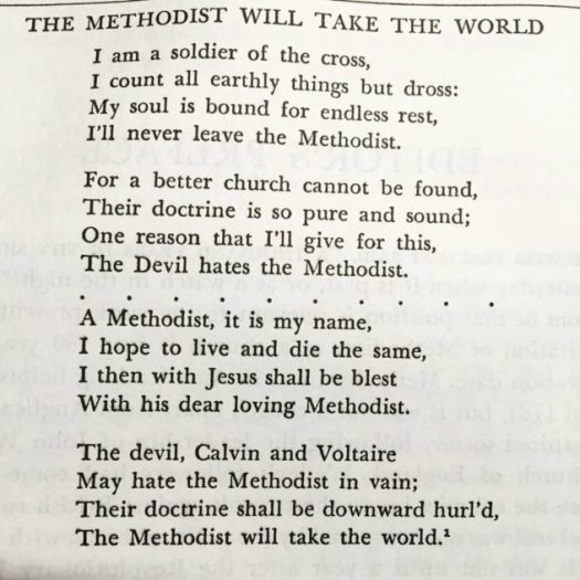the methodist will take over the world