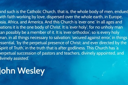 a Wesleyan approach to the Church