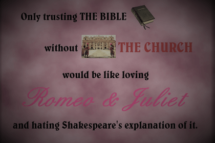 Prima Scriptura and why it matters