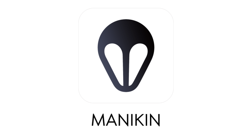 Icon Manikin app with text