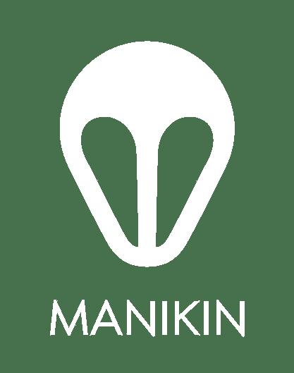 Manikin_LogoText_White_Small