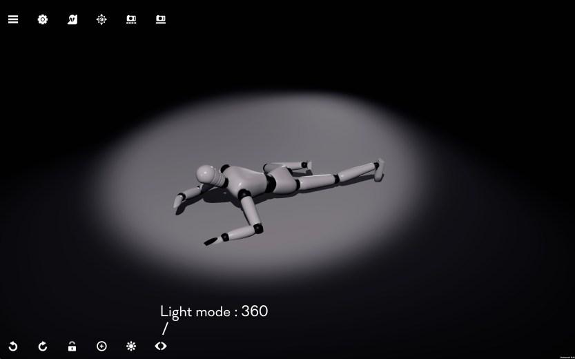 Default camera mode 360 orbit