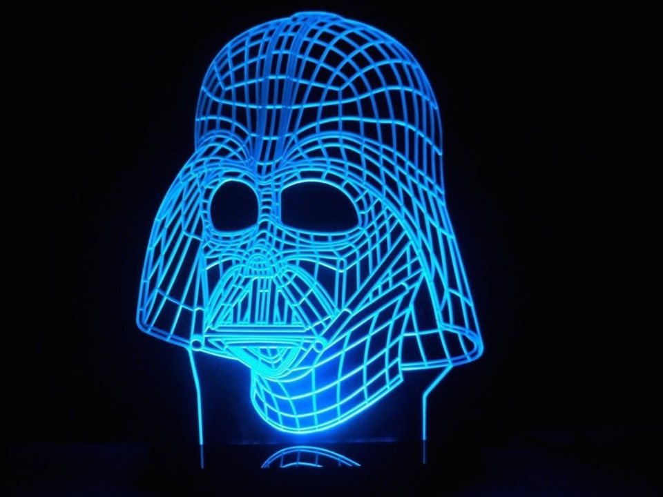 Darth Vader LED Light Table Lamp