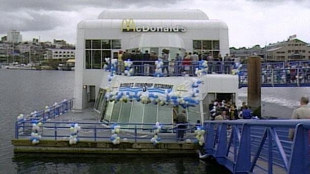 Abandoned Floating McDonald's Outlet