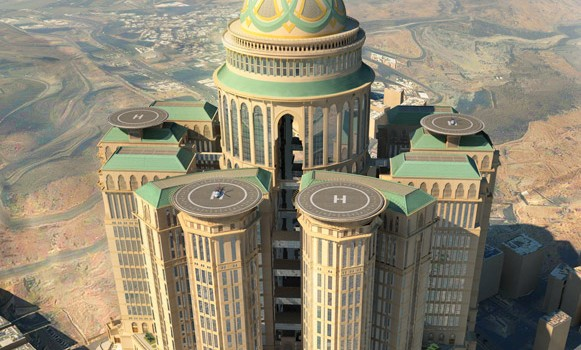 Saudi-Arab-Is-Building-World's-Largest-Hotel-In-Mecca-5-581x350