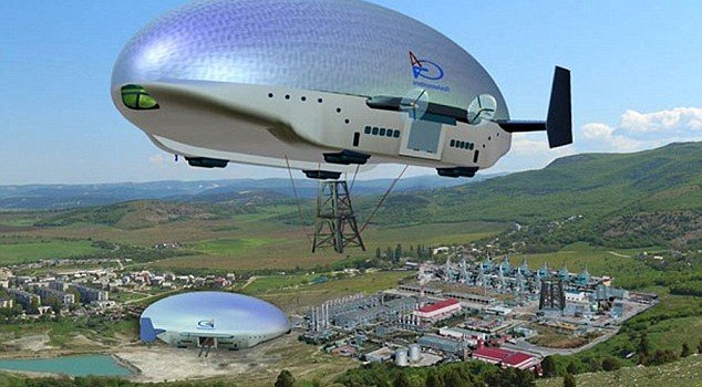 Russian Airship Flies At 105 Mph and Doesn't Need Docking Terminals
