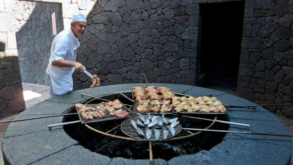 Restaurant That Grills Your Food Over Lava