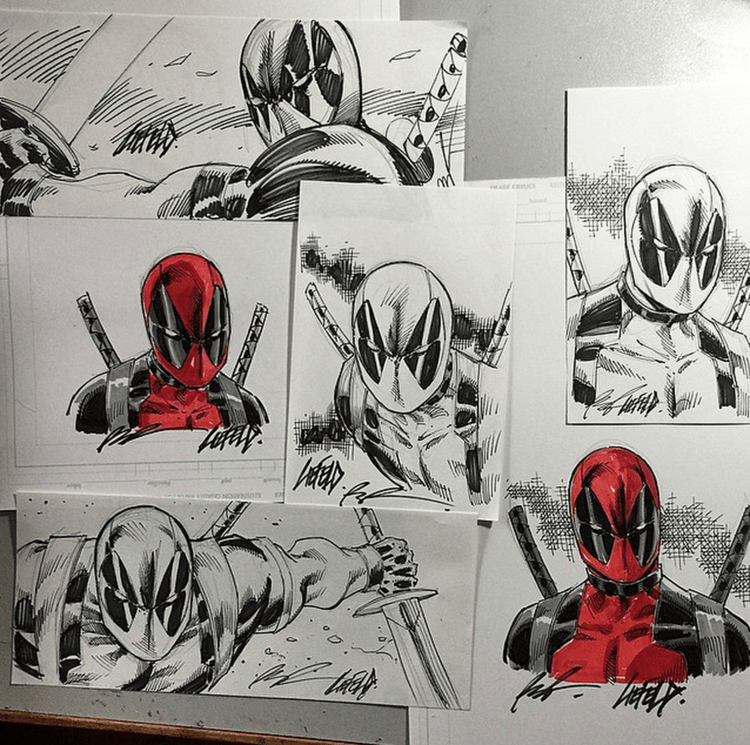 DEADPOOL Creator Rob Liefeld is Hiding 24 Sketches at Comic-Con For You to Find