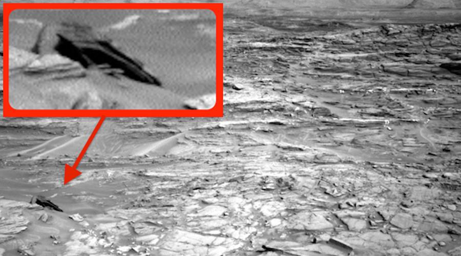 Star Destroyer Found on Mars!