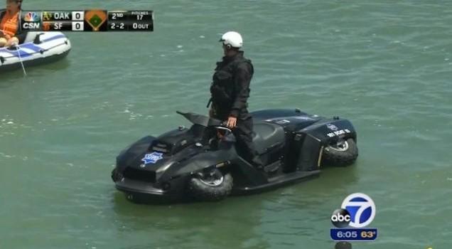 San Francisco Cops Got Amphibious Vehicles Now