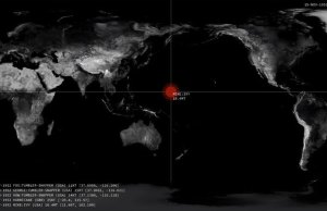 A Horrific Visualization of Every Nuclear Detonation from 1945 to Present