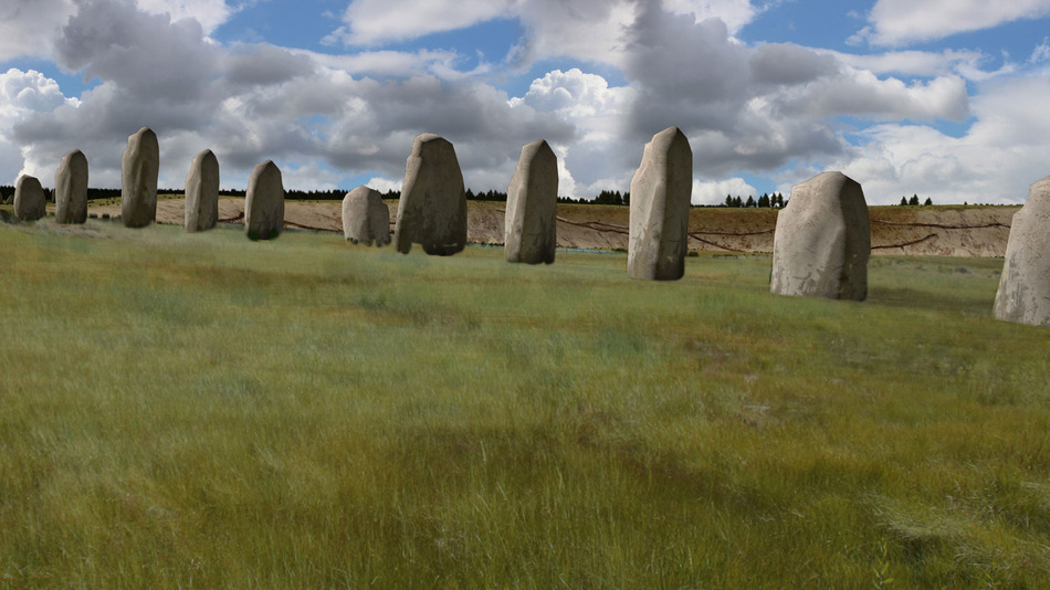 Prehistoric Monument Found Near Stonehenge