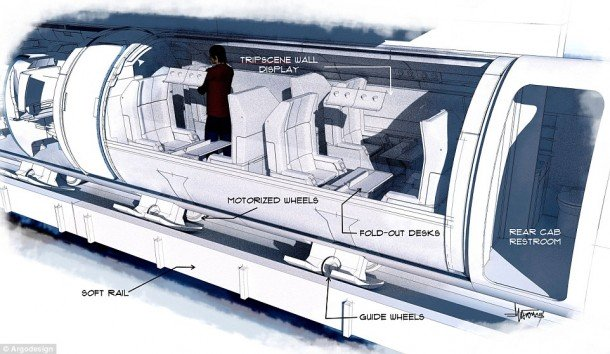 Elon Musk's Hyperloop Train System
