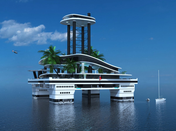 Mobile Private Island