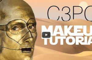 The C3PO Makeup Tutorial