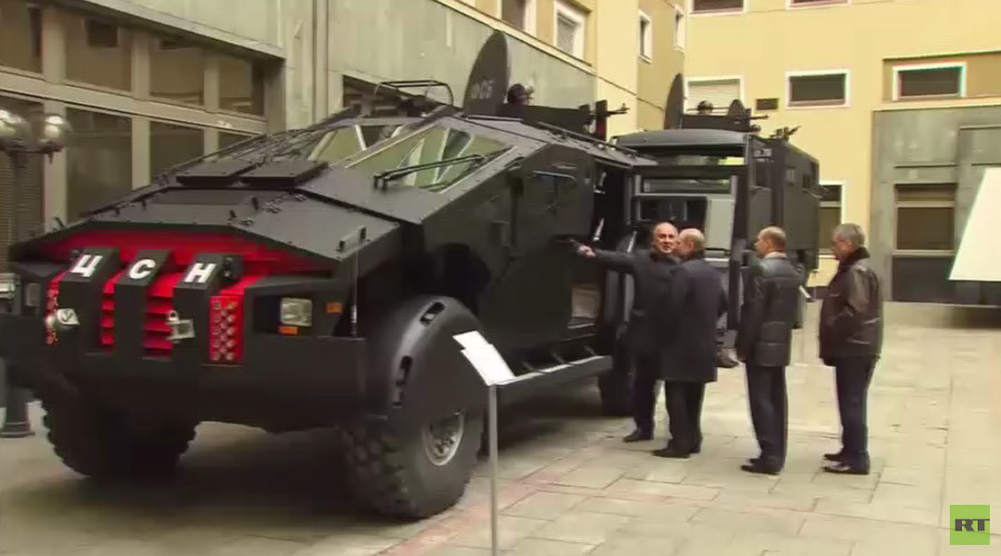 Russia's Batmobile Inspired Cutting-Edge Combat Vehicles