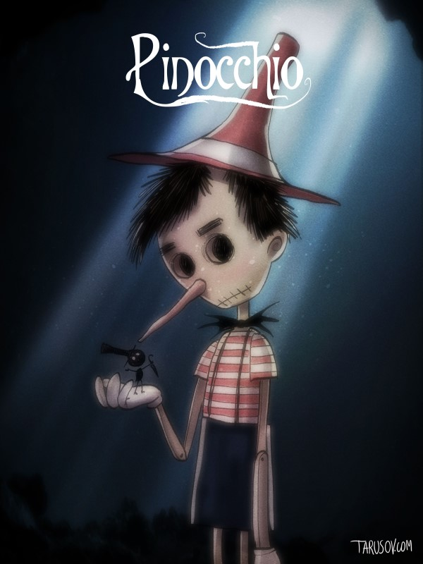 Disney Characters Made By Tim Burton