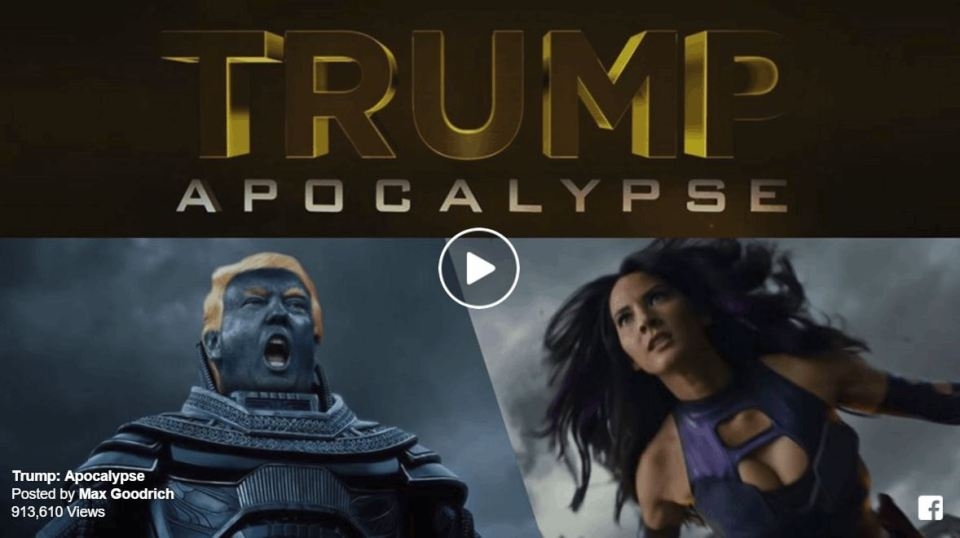 X-Men Face Off Against Donald Trump in Fan Trailer