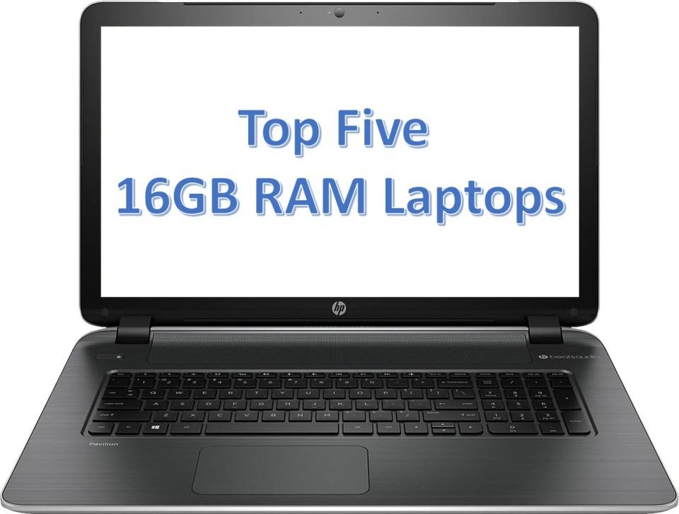 16gb ram laptops