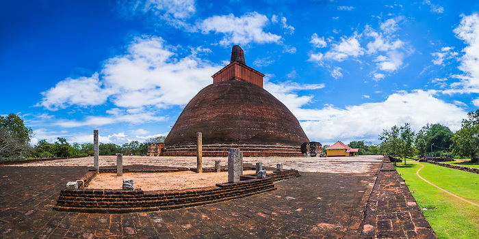 stupas of Anuradhapura in the Cultural Triangle