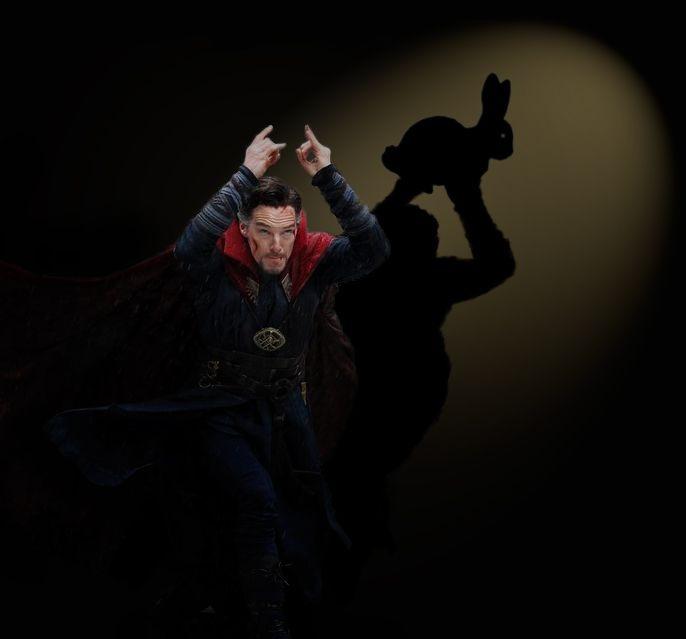 Benedict Cumberbatch's Dr. Strange