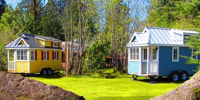 Tiny Homes In A US Village