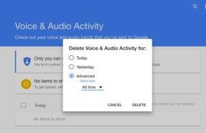 Google Is Secretly Recording Your Voice