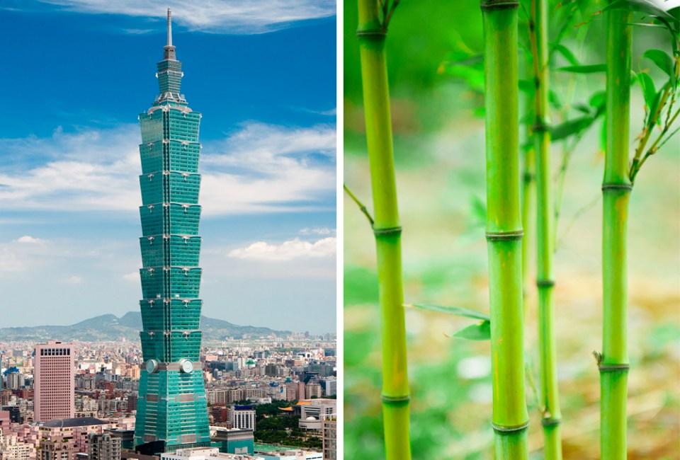 A skyscraper in Taipei