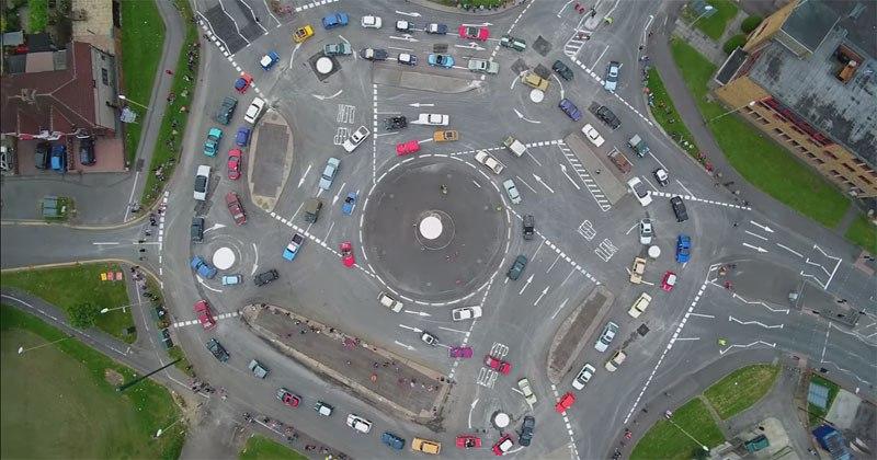 Swindon's 7-Circle Roundabout