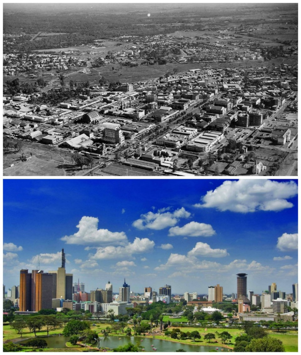 Nairobi, Kenya: The 1960s and now