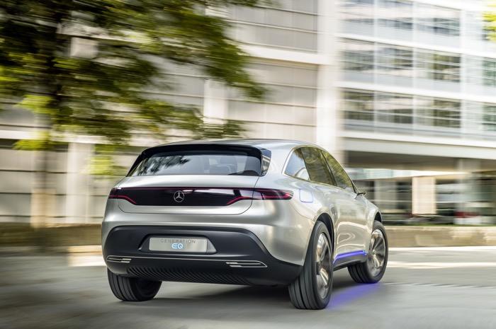 Mercedes Generation EQ SUV Electric Concept