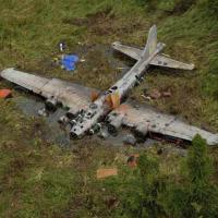 B-17 Found After 68 Years In the Jungle Swamp