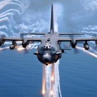 Check Out Lockheed AC-130U Gunship Live Firing Video