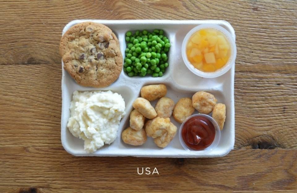 USA School Lunch