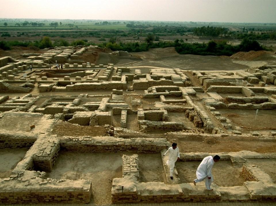 Mohenjo-daro ('The Mound of the Dead'), Pakistan