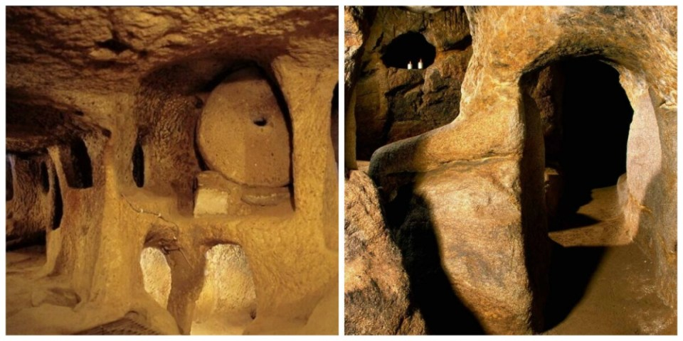 Stone-Age Tunnels