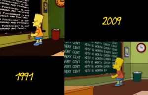 Side-by-Side Comparison Of The Simpsons