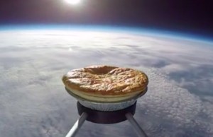 Cooking a Pie By Sending It to Space